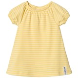 Geggamoja Yellow Striped Singoalla Dress