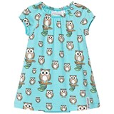 Geggamoja Owl Print Bamboo Dress