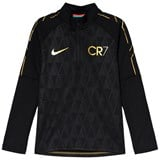 Nike Black Nike Dry CR7 Academy Drill Top