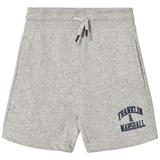 Franklin & Marshall Grey Badge Logo Sweat Shorts