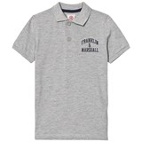 Franklin & Marshall Grey Logo Polo Shirt