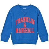 Franklin & Marshall Blue Branded Sweater