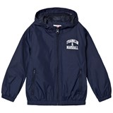 Franklin & Marshall Navy Branded Windbreaker Jacket
