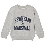 Franklin & Marshall Grey Logo Sweatshirt