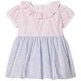 Livly Pink And Blue Stripe Blocking Rosie Dress