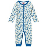 Tootsa MacGinty Blue Peace Sign Footless Baby Grow