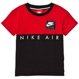 Nike Red and Black Air T-Shirt