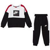 Nike Red and Black Air Full Zip Tracksuit
