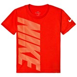 Nike Red Side Branded Dri Fit T-Shirt