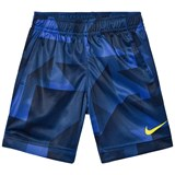 Nike Blue and Black Printed Dri-Fit Legacy Shorts