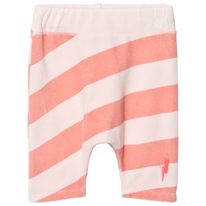 SCAMP & DUDE   Scamp & Dude Pink And Peach Stripe Lucky Shorts 7-8 Years   Goxip