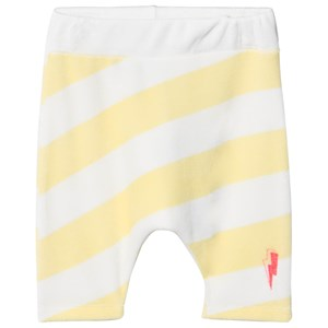 SCAMP & DUDE   Scamp & Dude Yellow And White Stripe Lucky Shorts 7-8 Years   Goxip