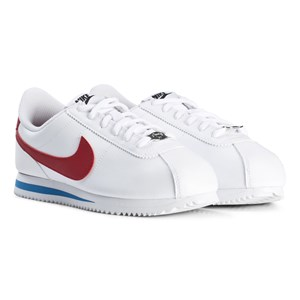NIKE WHITE AND RED NIKE CORTEZ BASIC SHOE