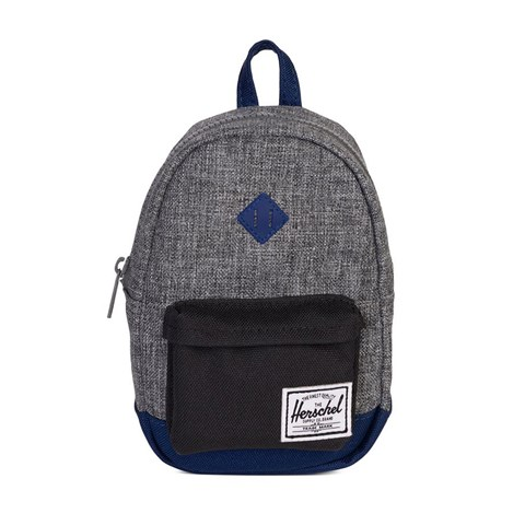 6d0339ae2a39 Herschel Supply Co Raven Crosshatch Heritage Youth Backpack ...