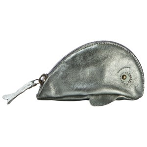 EASY PEASY | Easy Peasy Green Metallic Whale Purse One Size | Goxip