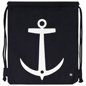 EMMA OCH MALENA | Emma Och Malena Navy Anchor Gym Bag One Size | Goxip