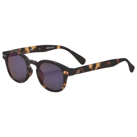 IZIPIZI Tortoise SUN Junior #C Mirror Sunglasses