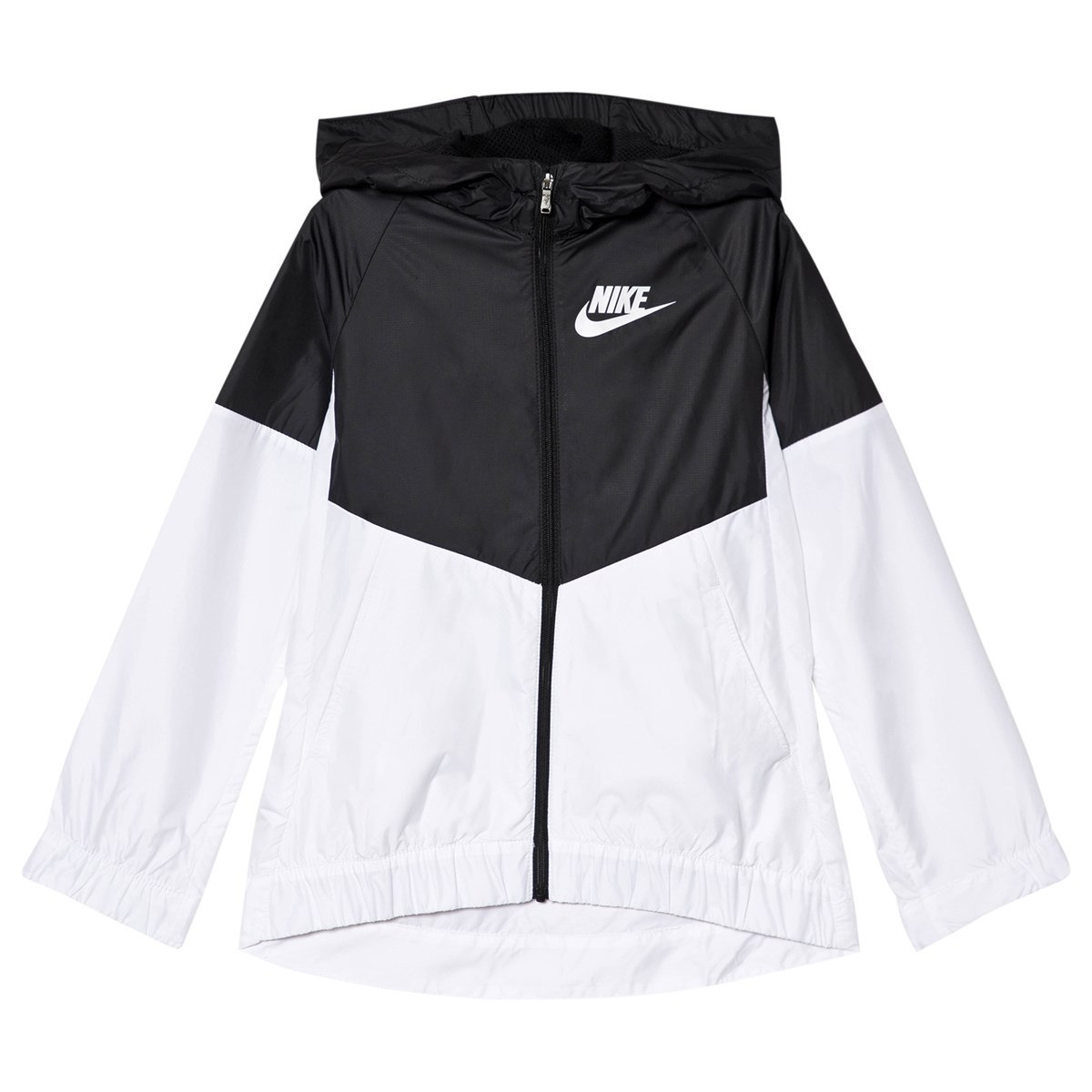 classic a4964 a5c7b nike black and white sportswear windrunner jacket