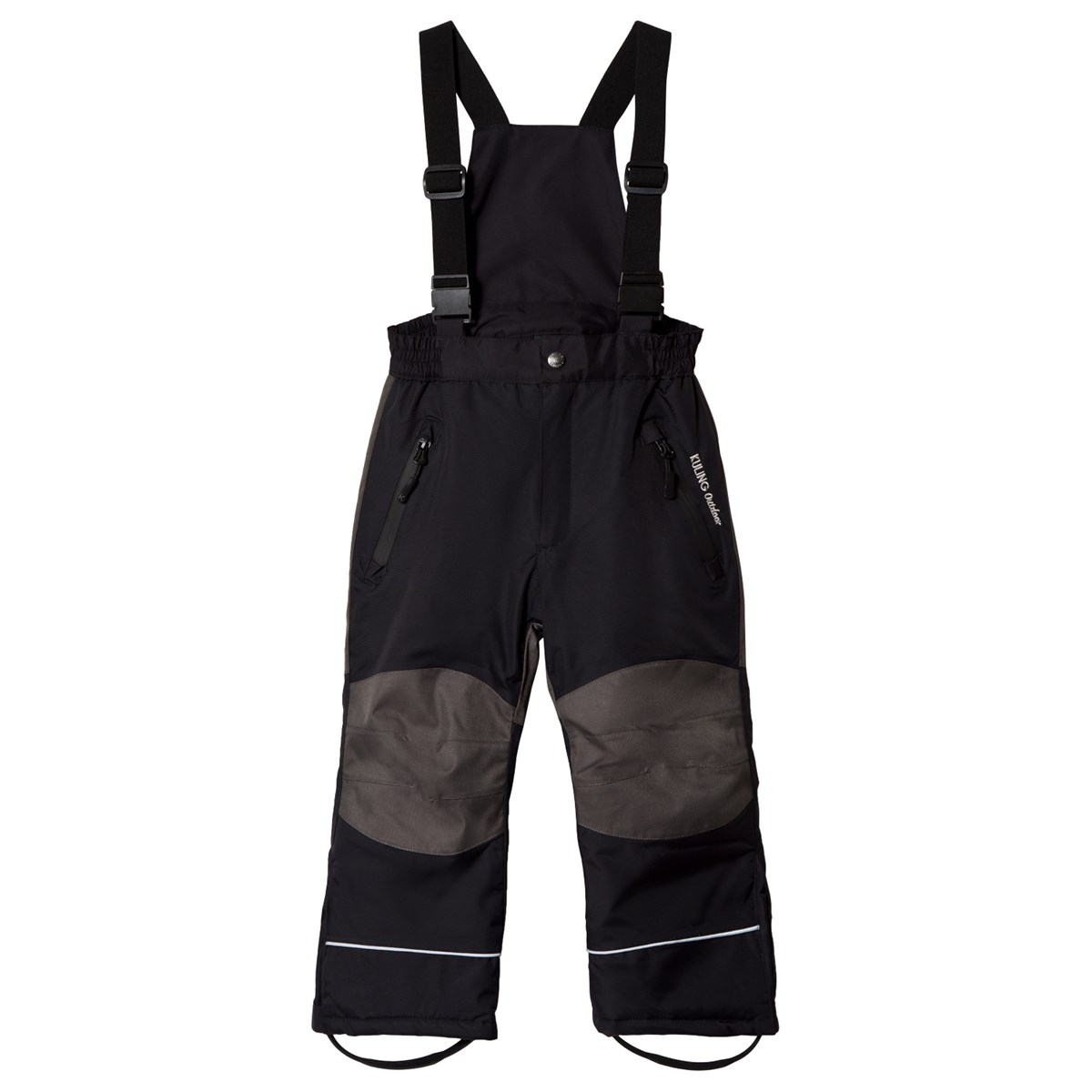 Kuling Voss Black Outdoor Ski Trousers