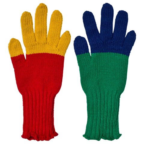 Bobo Choses Multicolor Knitted Gloves