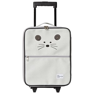 KULING | Kuling Grey Mouse Suitcase One Size | Goxip