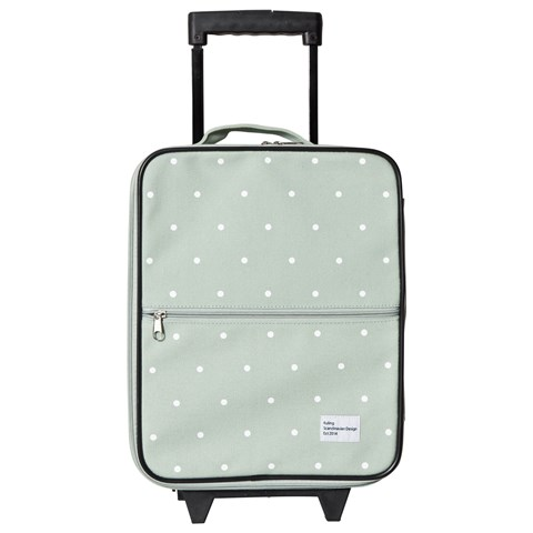 Kuling Mint Spotted Small Suitcase