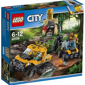 LEGO City 60159 LEGO® City Jungle Halftrack Mission 6 - 12 years