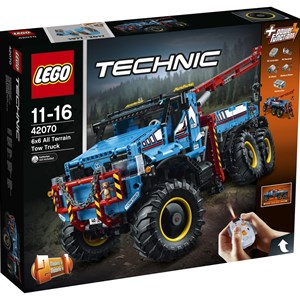 LEGO Technic 42070 LEGO® Technic 6x6 All Terrain Tow Truck 11 - 16 years