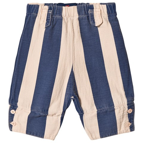 The Animals Observatory Rose and Blue Stripes Elephant Babies Pants