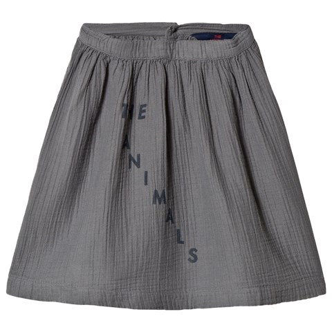 The Animals Observatory Grey The Animals Sow Kids Skirt