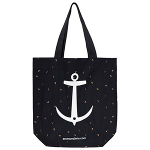 EMMA OCH MALENA | Emma Och Malena Black Anchor Bag One Size | Goxip