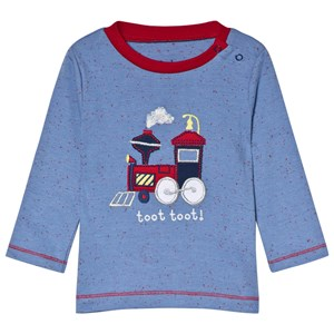 Hatley Blue Toy Train Long Sleeve T-Shirt 12-18 months