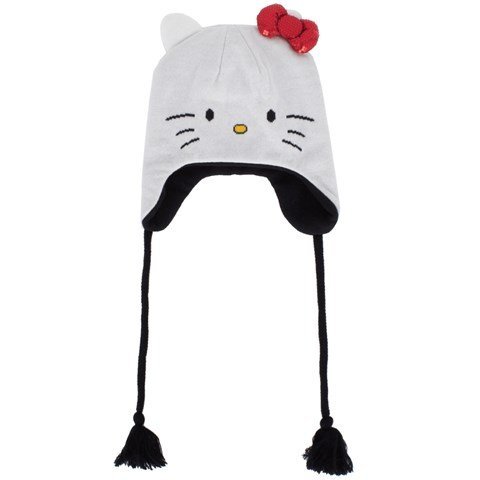 2016b7f20 Vans Hello Kitty Ear Flap Hat | AlexandAlexa