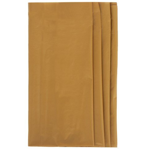 Party Boutique Gold Plastic Table Cover Alexandalexa