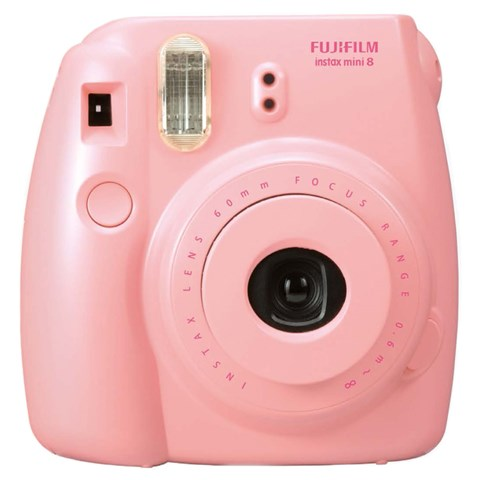 Fujifilm Pink Instax Mini 8 Camera with Film