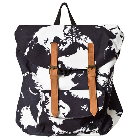 Molo World Map Strapped Backpack
