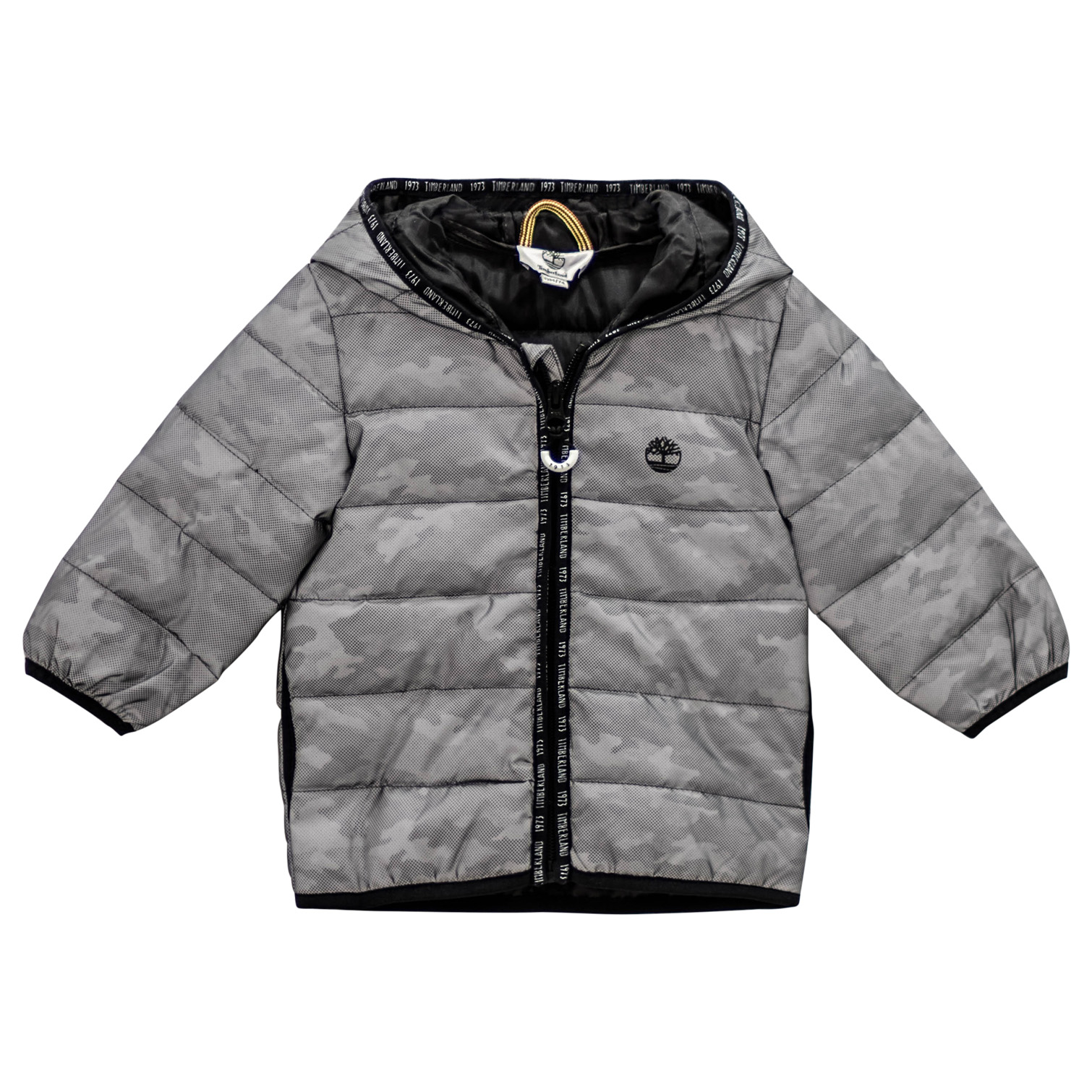 ddfa51691 Silver Reflective Water Repellent Puffer Coat