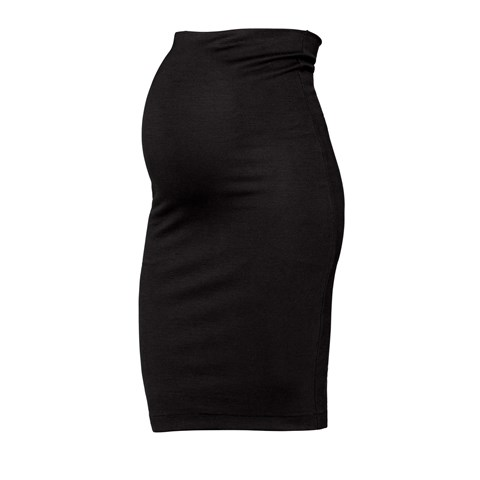 Boob Design Black Once On Never Off Pencil Skirt