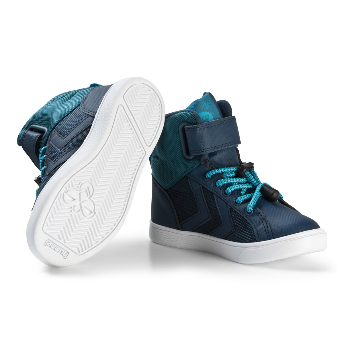 6703978ab45 Hummel Teal Splash Poly Shoes | AlexandAlexa