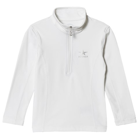 Bogner White Ada 1/2 Zip Baselayer