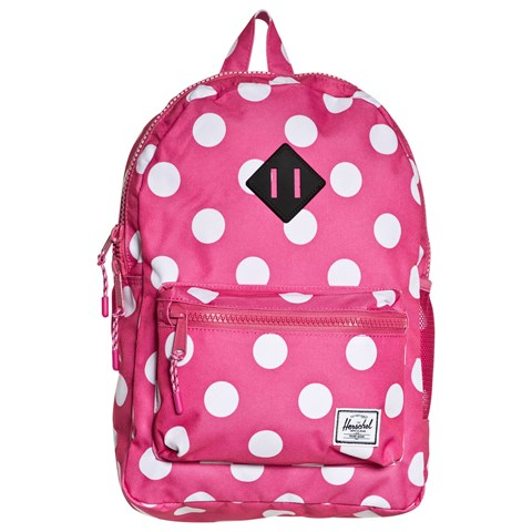 073f1949ba8 Herschel Supply Co Fandango Pink Polka Dot Backpack   AlexandAlexa