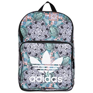 adidas Originals Zebra Jungle Print Trefoil Logo Backpack One Size