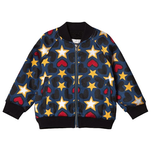 Stella McCartney Kids Multicoloured Tapestry Bomber Jacket