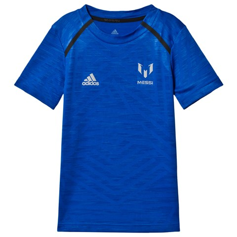adidas Performance Blue Messi Icon T-Shirt
