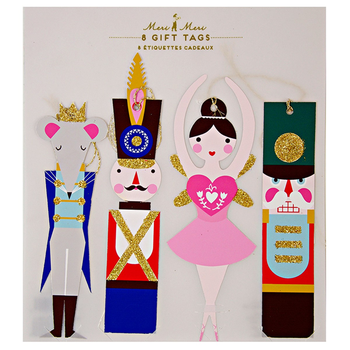 Meri Meri Nutcracker Gift Tags