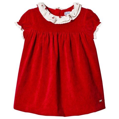 Mayoral Red Cord Dress