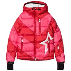 7cb3225d6 Red and Pink Super Mojo Ski Jacket