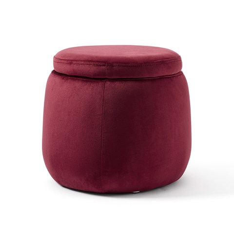Kids Concept Red Round Storage Box