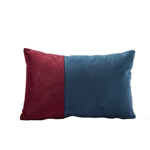 Kids Concept Blue And Red Stripe Cushion