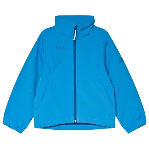 Bergans Blue Soft Shell Jacket